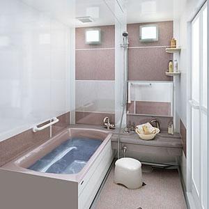タカラシステムバス伸びの美浴室